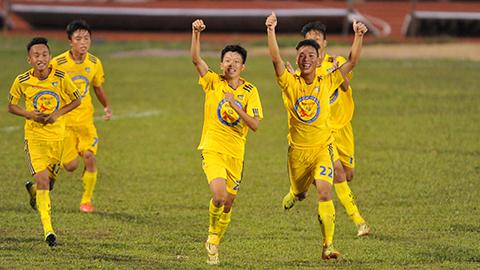 U17 An Giang 0-1 U17 SLNA: Sông Lam vượt ải đầu tiên