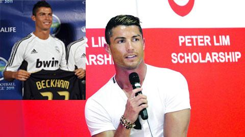 Đằng sau vụ bản quyền hình ảnh của Cristiano Ronaldo: Ronaldo muốn tiếp bước Beckham