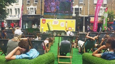 Wimbledon chiếm vị trí số 1 trên các mạng xã hội