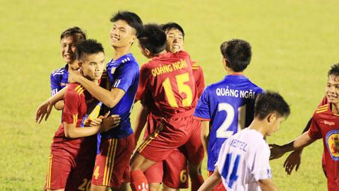 U17 Quảng Ngãi: Khát vọng của đội bóng nghèo