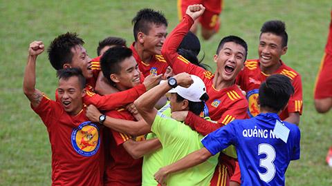 U17 Quảng Ngãi tạo địa chấn bằng chiến thắng sát nút U17 Đồng Tháp