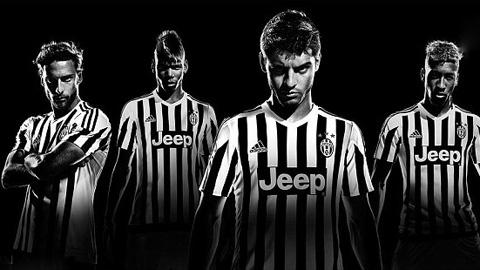 Pogba làm người mẫu quảng cáo áo đấu cho Juve