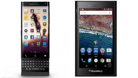 BlackBerry sẽ tung ra tới 2 mẫu điện thoại đầu tiên chạy Android