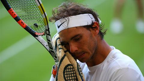 Ngược dòng bất thành, Nadal bị loại ngay ở vòng 2 Wimbledon