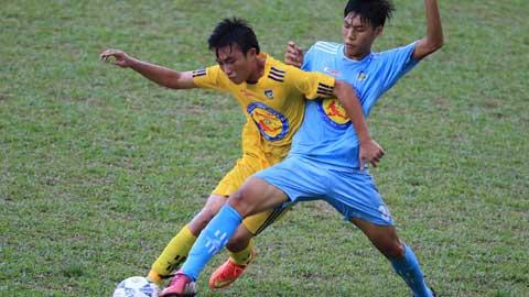 Đánh bại U17 S.Khánh Hòa, U17 SLNA theo chân U17 PVF vào bán kết