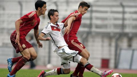 01h45 ngày 8/7, U19 Đức vs U19 Tây Ban Nha: Chờ mưa bàn thắng