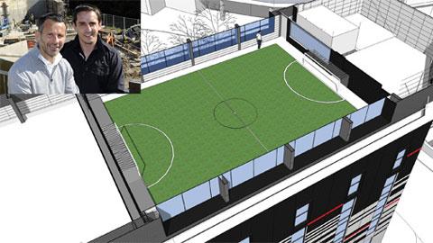"""Giggs lên kế hoạch """"nhân bản"""" Hotel Football"""