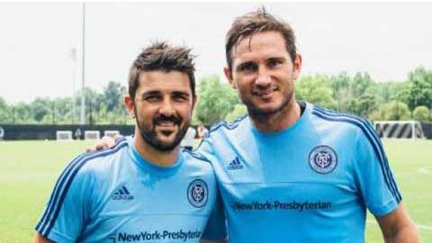 Lampard chính thức ra mắt New York City: Chưa phải lúc dưỡng già