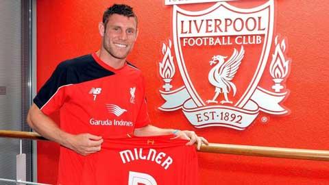 Milner đến Liverpool để thỏa mộng chơi tiền vệ trung tâm