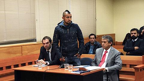 Vidal thoát án tù, bị 'treo' bằng lái 2 năm