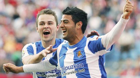 Wolfsburg nhắm Vela thay De Bruyne