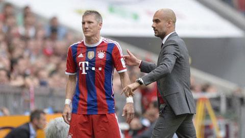 Bayern đã nhận được đề nghị của M.U cho Schweinsteiger