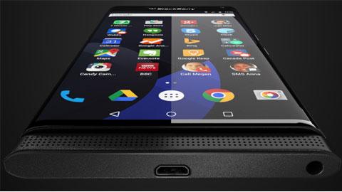 BlackBerry chạy Android sẽ có màn hình Quad HD và chip 6 nhân