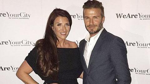 Em gái Beckham mở công ty riêng