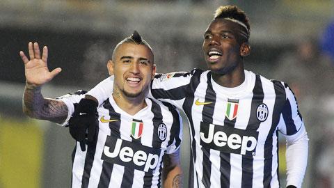 Juve cho Pogba và Vidal thời hạn ra đi: Lão bà khẳng định tham vọng