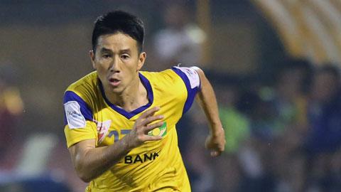 Quang Tình ghi bàn thắng thứ 300 cho V.League 2015