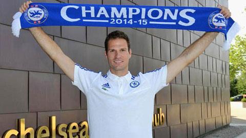 Chelsea đón tân binh thứ ba trong Hè 2015