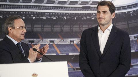 Real vội vàng tổ chức lễ chia tay Casillas: Perez và Real chữa thẹn