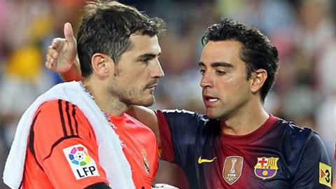 Xavi kêu gọi đòi công bằng cho Casillas