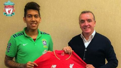 Liverpool công bố số áo của Firmino, Clyne và Origi