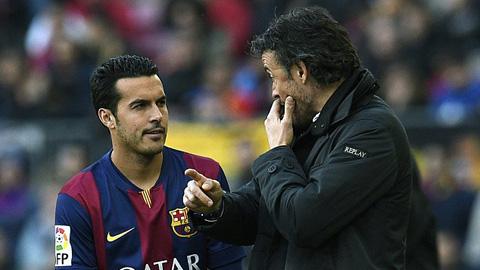 HLV Enrique cho Pedro chủ động về tương lai