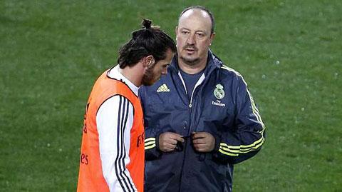 Trao vị trí trung phong ở Real cho Bale