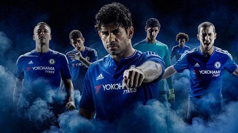 Chelsea trình làng áo sân nhà mùa 2015/16