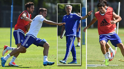 Buổi tập đầu tiên của Chelsea: Nhà vô địch tái xuất