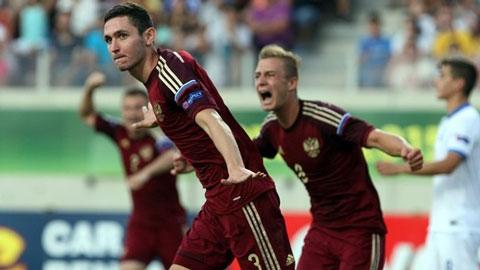 VCK U19 châu Âu: Nga gặp lại Tây Ban Nha ở chung kết