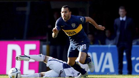 Tevez tỏa sáng ngay trận đầu trở lại Boca Juniors