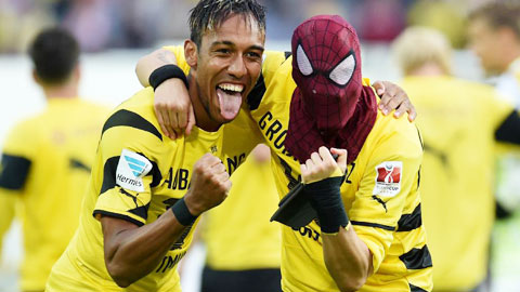 Dortmund quyết giữ Aubameyang