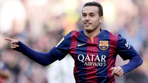 Barca đồng ý bán Pedro cho M.U
