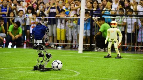 Robot Soccer World Cup: Khi người máy biết đá bóng