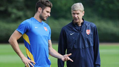 Arsenal trói chân Giroud đến năm 2018