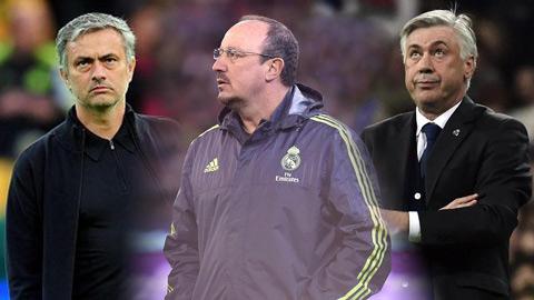 Khác biệt giữa khởi đầu của Benitez, Ancelotti và Mourinho ở Real