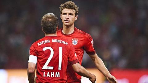 Lahm lo lắng Mueller có thể rời Bayern