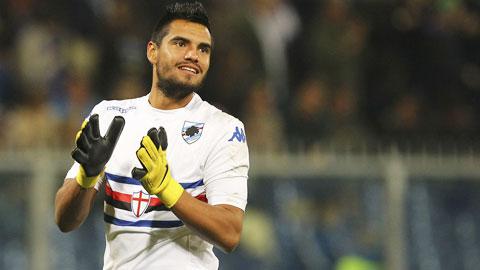 Thủ môn Romero ký hợp đồng 3 năm với M.U