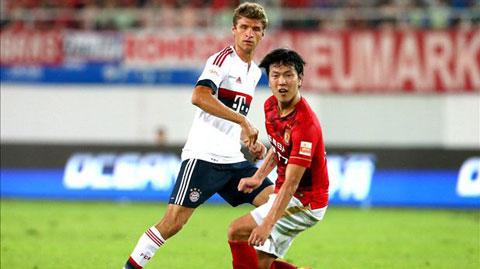 Mueller đá hỏng luân lưu, Bayern thua đội ĐKVĐ Trung Quốc