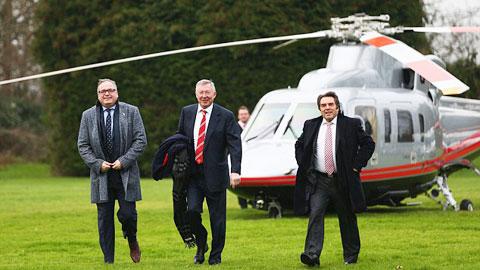 Sir Alex kiếm 4 triệu bảng trong năm đầu nghỉ hưu