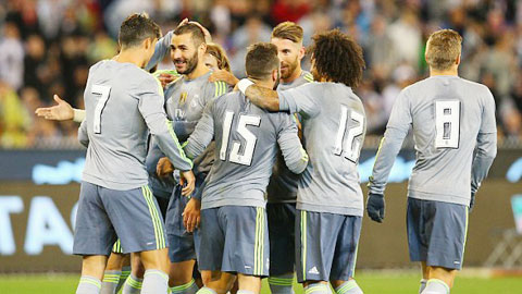 Karim Benzema 'mở hàng' cho Real