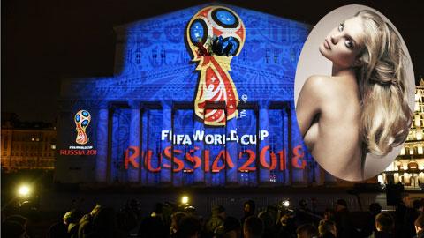 Siêu mẫu 4 con 'đốt cháy' Lễ bốc thăm World Cup 2018