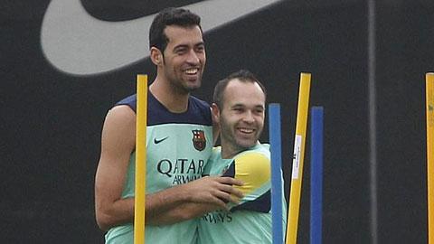 Iniesta sẽ trở thành thủ lĩnh mới của Barca?