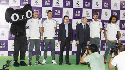 Ramos lạnh nhạt với Perez trong buổi gặp mặt tại Trung Quốc
