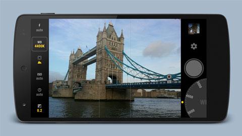 Ứng dụng chụp ảnh RAW trên smartphone Android