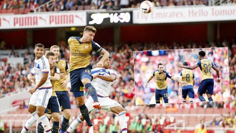Arsenal tại Emirates Cup: Điểm sáng trên hàng công