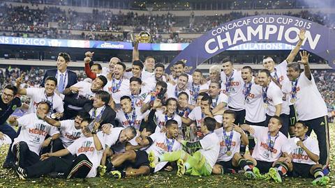 Mexico lần thứ 10 vô địch Gold Cup