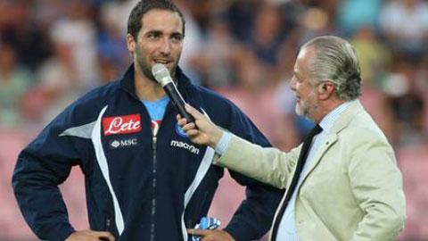 Higuain gia hạn hợp đồng với Napoli trong tuần này