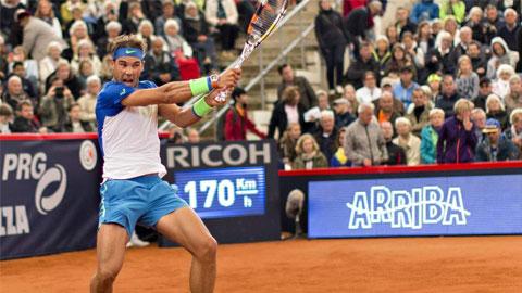 Nadal 'hút chết' ở Hamburg Open
