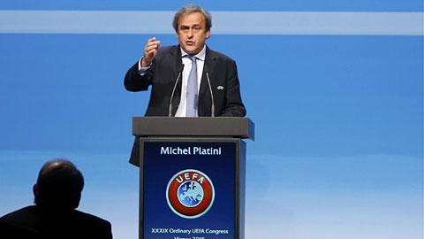 Platini tranh cử chủ tịch FIFA