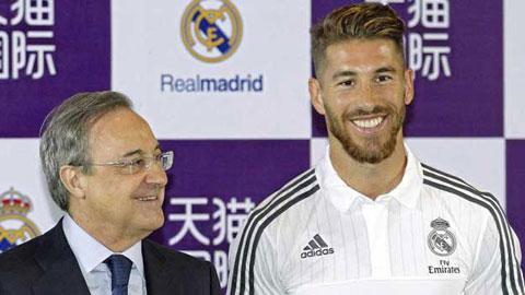 Ramos gia hạn hợp đồng với Real đến 2020
